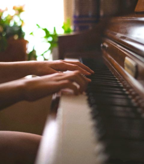 learning to play the piano
