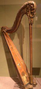 Renaissance Time Period Harp
