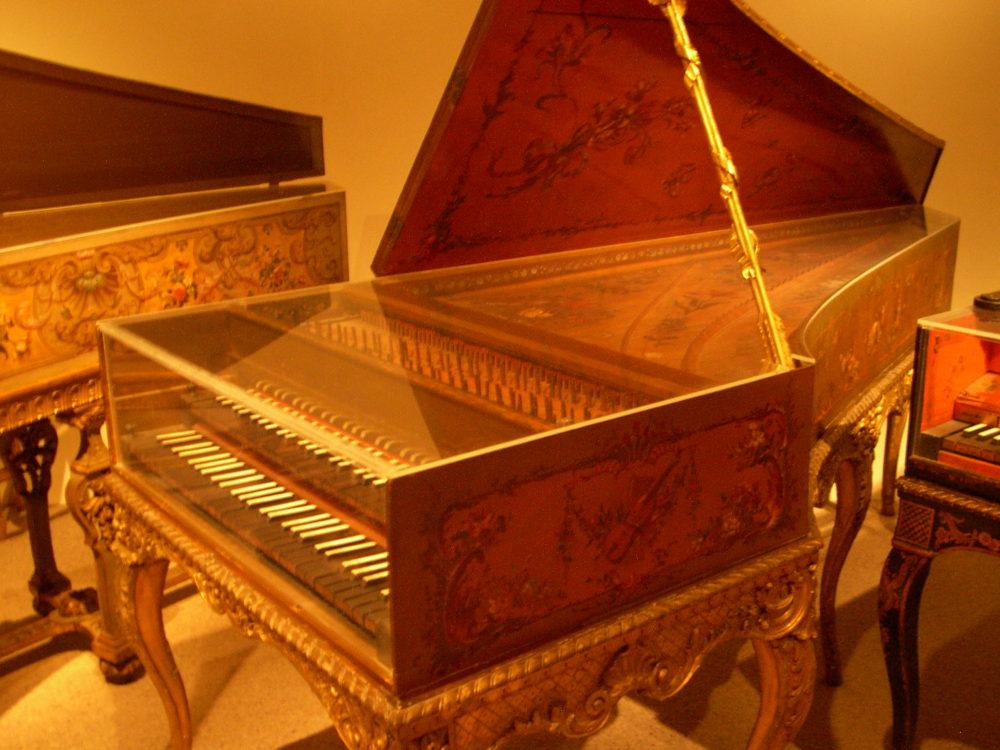 Renaissance Time Period Harpsichord