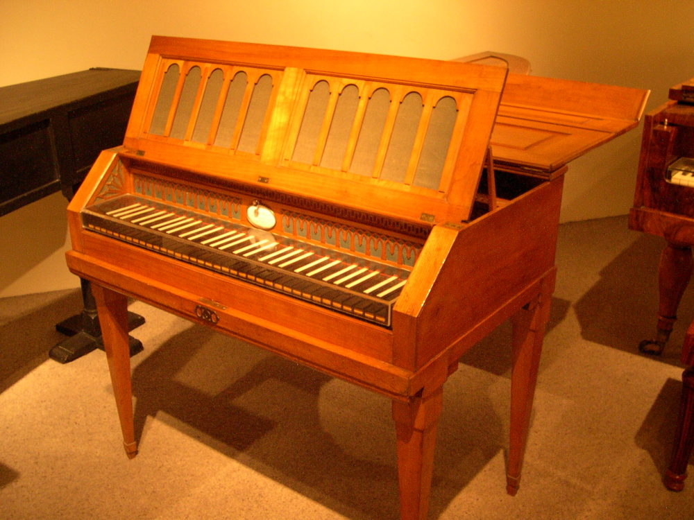 Grand Piano Renaissance Time Period