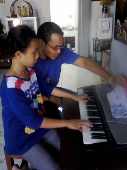 She has wanted to play the piano since she was five years old.