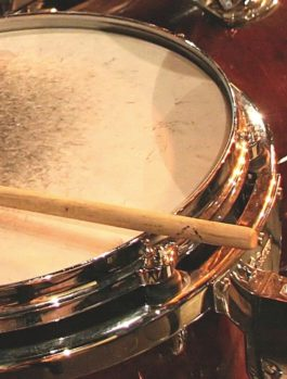 Side Stick on a Snare Drum