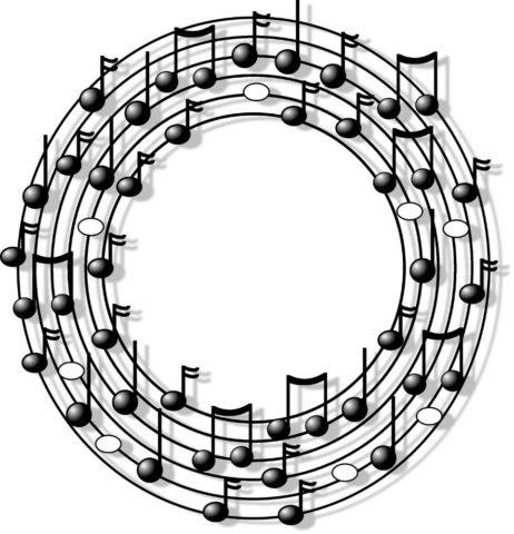 Piano Note Chart